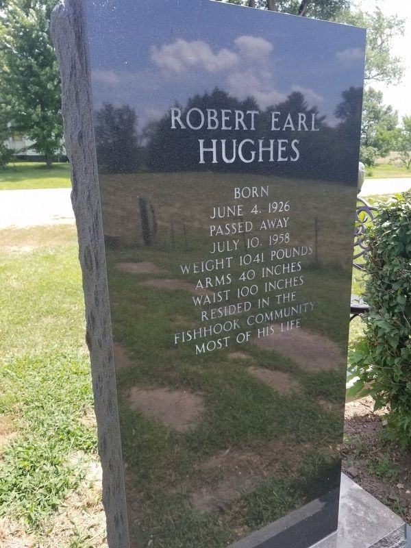 Robert Earl Hughes Marker image. Click for full size.