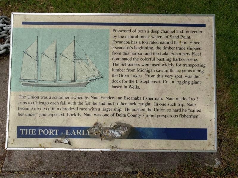 The Port - Early Years Marker image. Click for full size.
