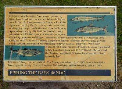 Fishing the Bays de Noc Marker image. Click for full size.