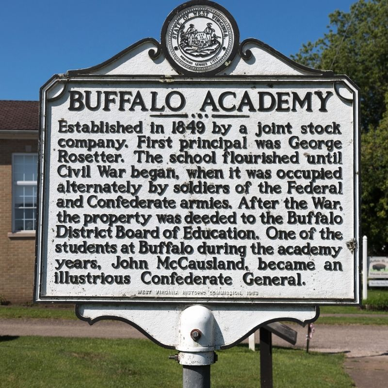 Buffalo Academy Marker image. Click for full size.