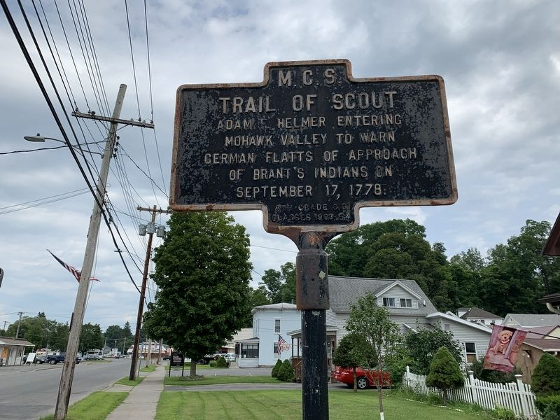 Trail of Scout Marker image. Click for full size.