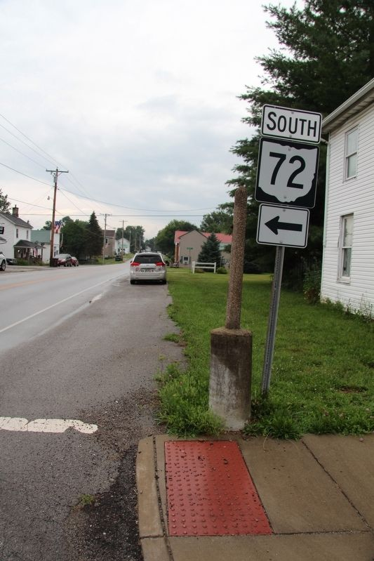 Kenton and Tecumseh Directional Marker Marker image. Click for full size.