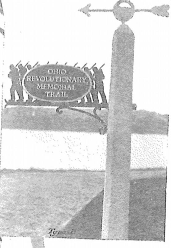 Ohio Revolutionary Memorial Commission, Type B, Directional Marker image. Click for full size.