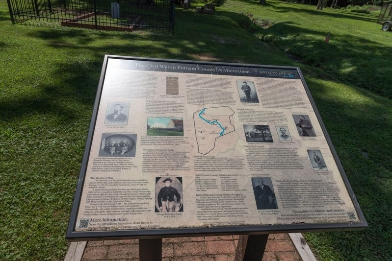 The Civil War in Putnam County Marker image. Click for full size.