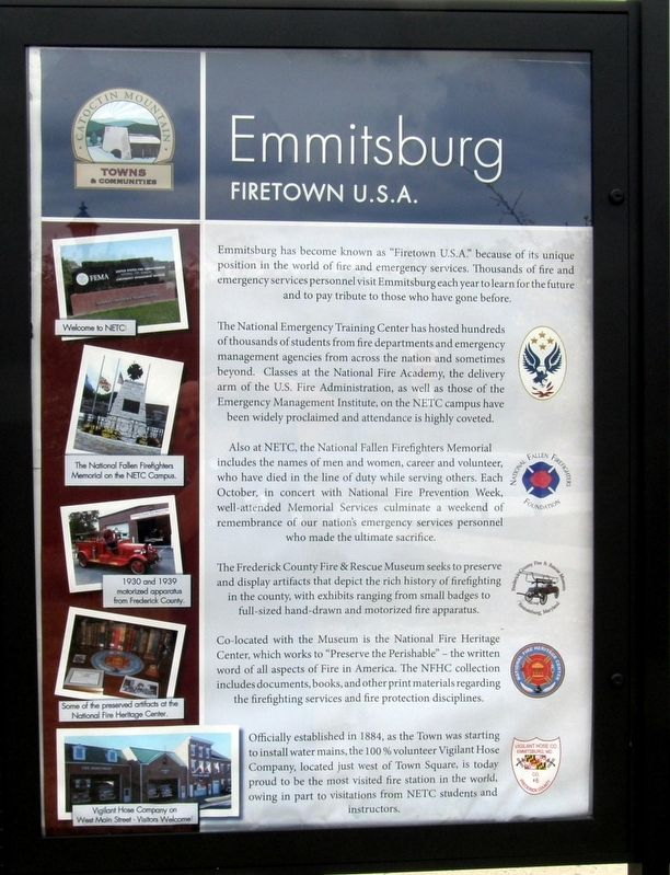 Emmitsburg Marker image. Click for full size.