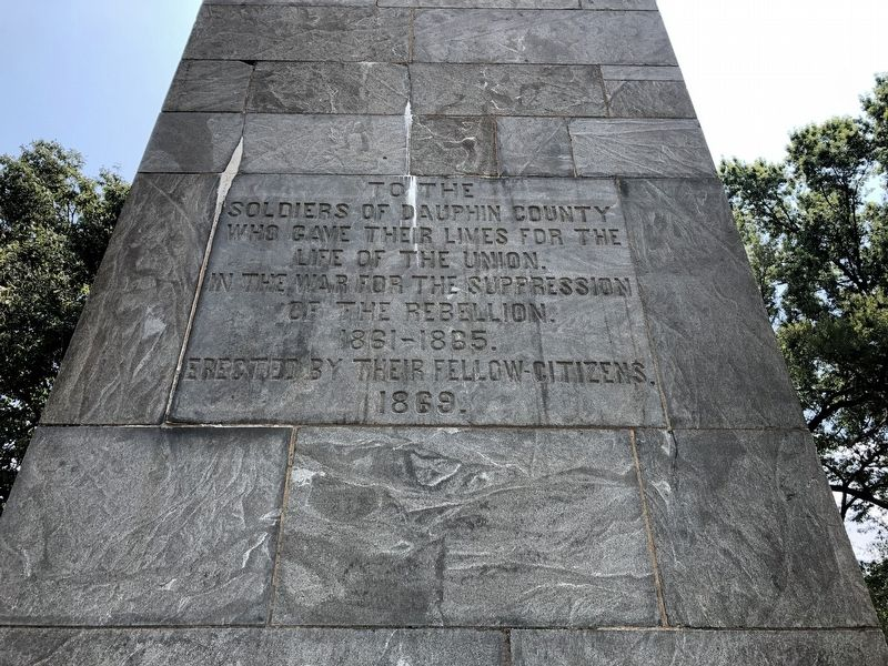 Dauphin County Civil War Memorial image. Click for full size.