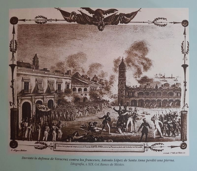 An image of the 1838 French Intervention in Mexico image. Click for full size.