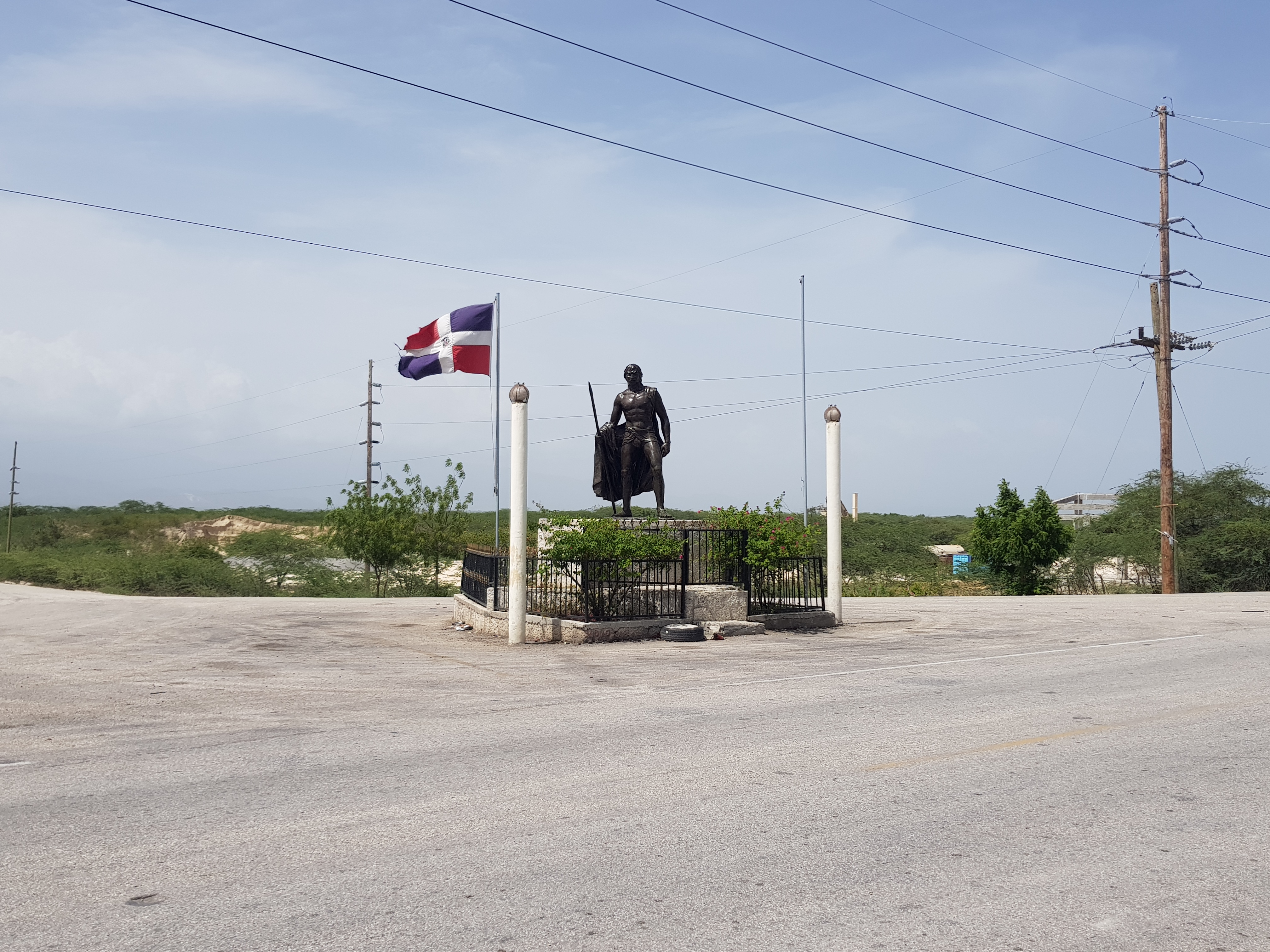 Enriquillo Monument and Marker