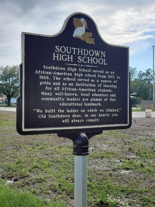 Southdown High School Marker image. Click for full size.