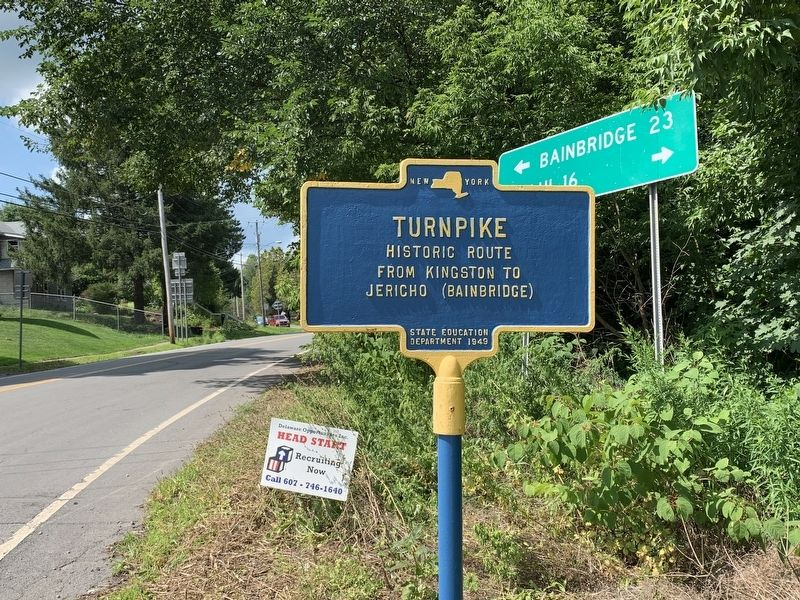 Turnpike Marker image. Click for full size.
