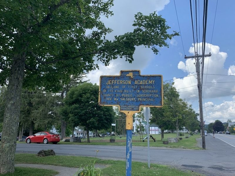 Jefferson Academy Marker image. Click for full size.