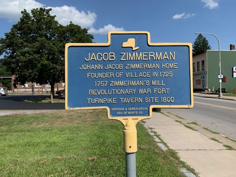 Jacob Zimmerman Marker image. Click for full size.
