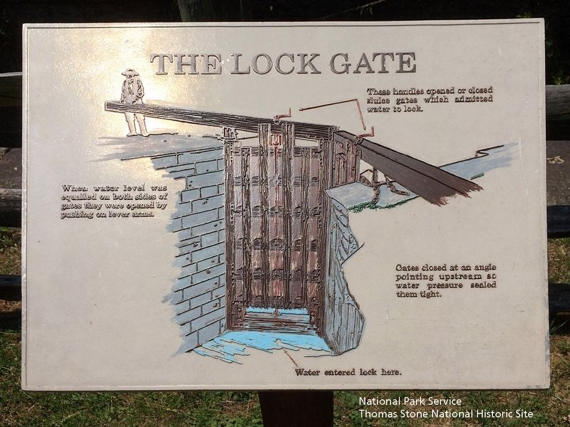 The Lock Gate Marker image. Click for full size.
