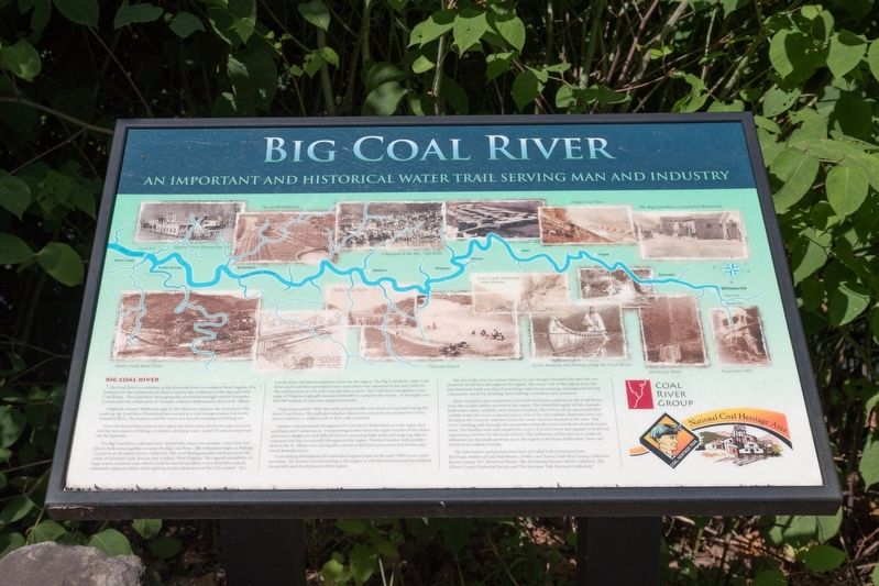 Big Coal River Marker image. Click for full size.