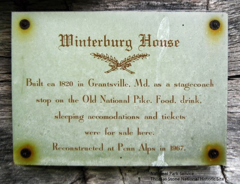 Winterburg House Marker image. Click for full size.