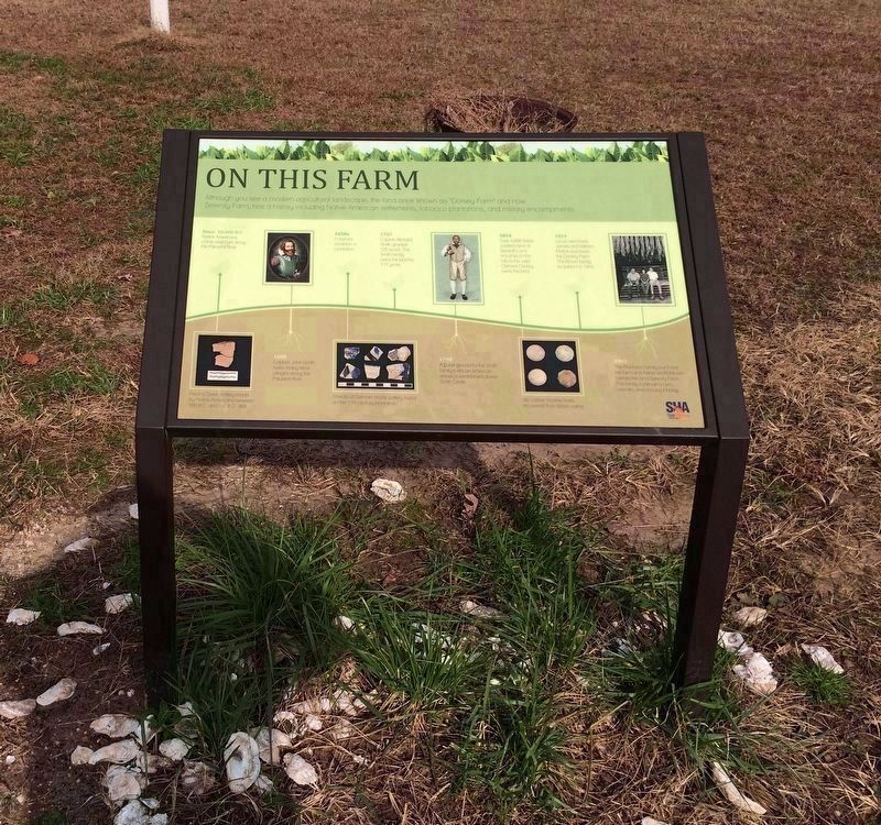 On This Farm Marker image. Click for full size.