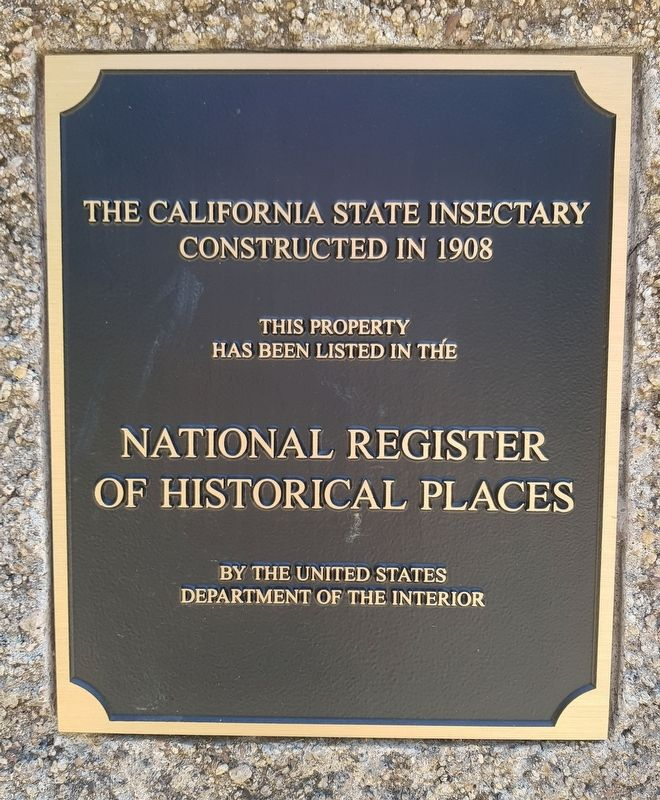 The California State Insectary Marker image. Click for full size.