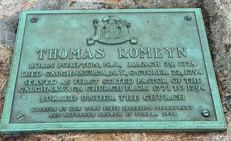 Thomas Romeyn Marker image. Click for full size.