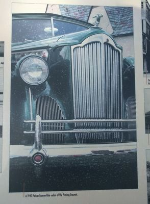 """Quality First"": The Packard Motor Car Company Marker - center image image. Click for full size."