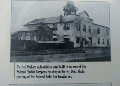 """Quality First"": The Packard Motor Car Company Marker - middle right image image. Click for full size."