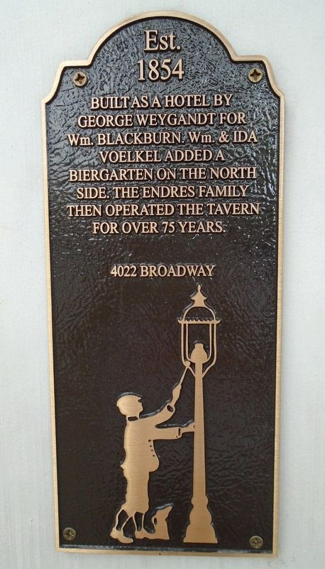 4022 Broadway Marker image. Click for full size.