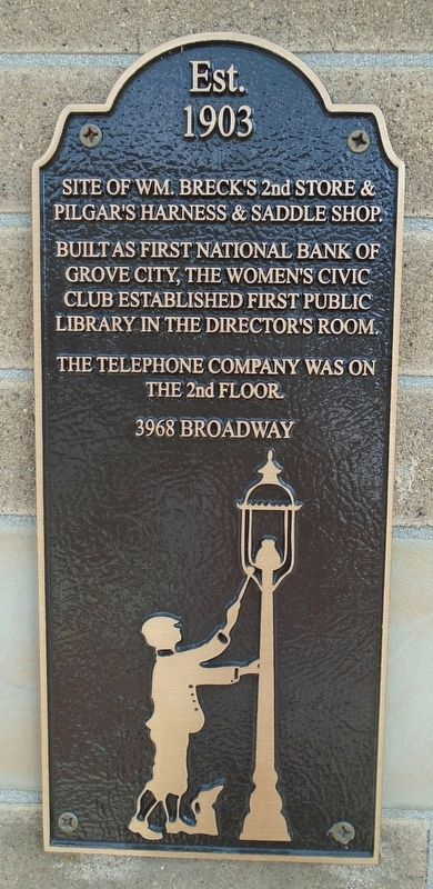 3968 Broadway Marker image. Click for full size.