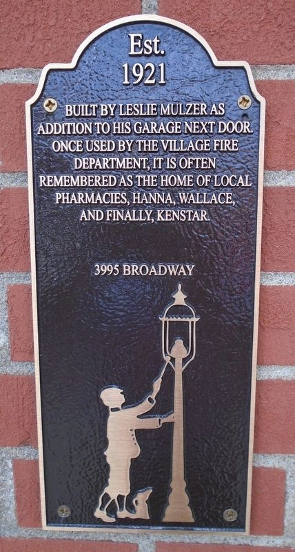 3995 Broadway Marker image. Click for full size.