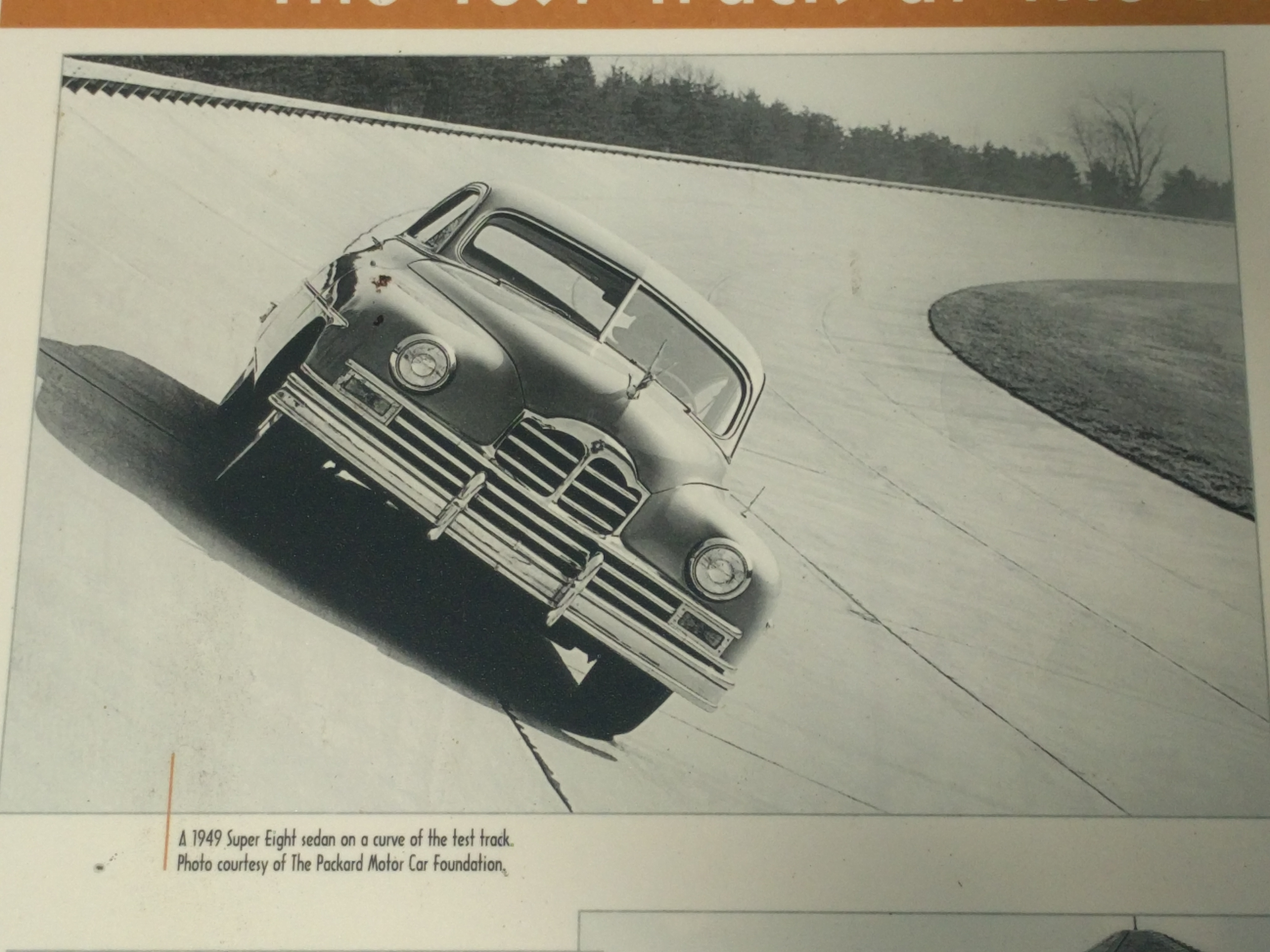Made for Speed: The Test Track at the Proving Grounds Marker - upper left image
