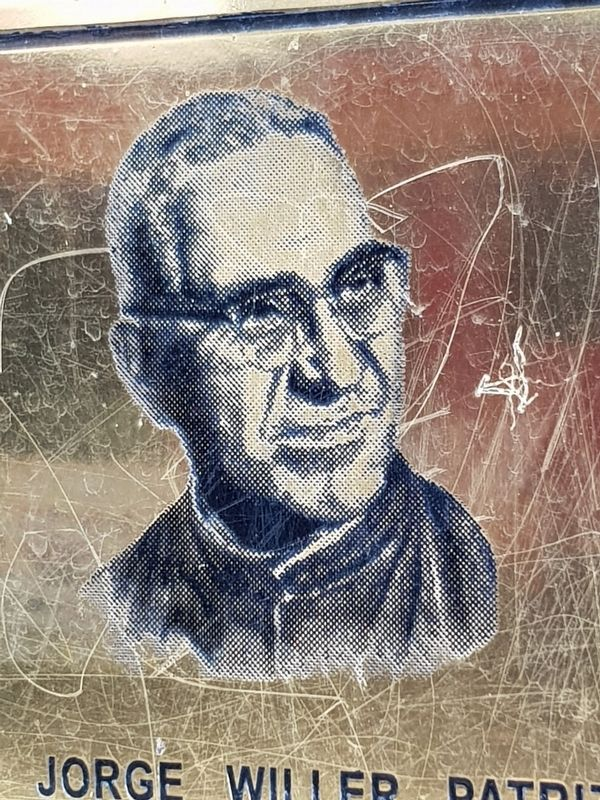 Oscar Arnulfo Romero, from the marker image. Click for full size.