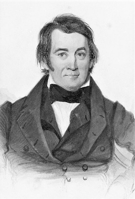 Portrait of Davy Crockett (1786-1836) image. Click for full size.