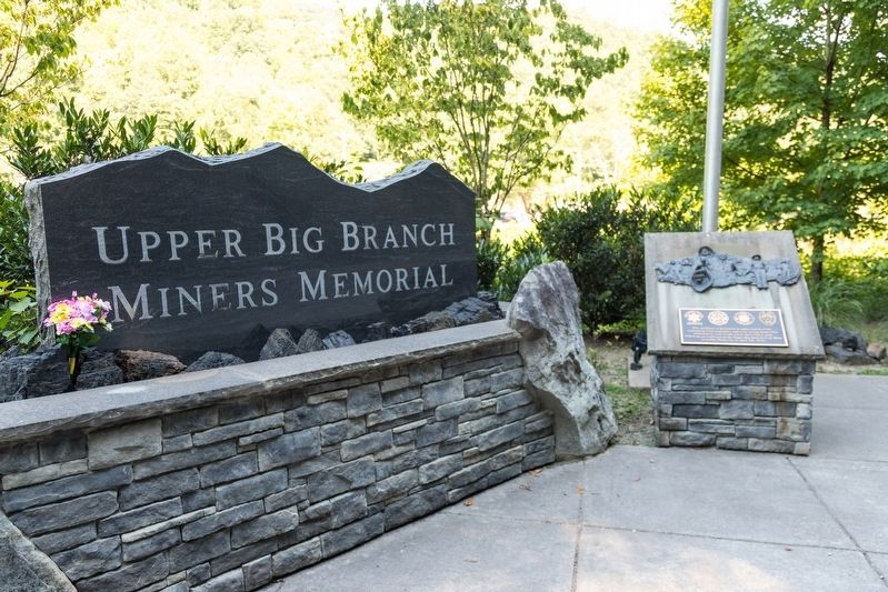 Upper Big Branch Miners Memorial image. Click for full size.
