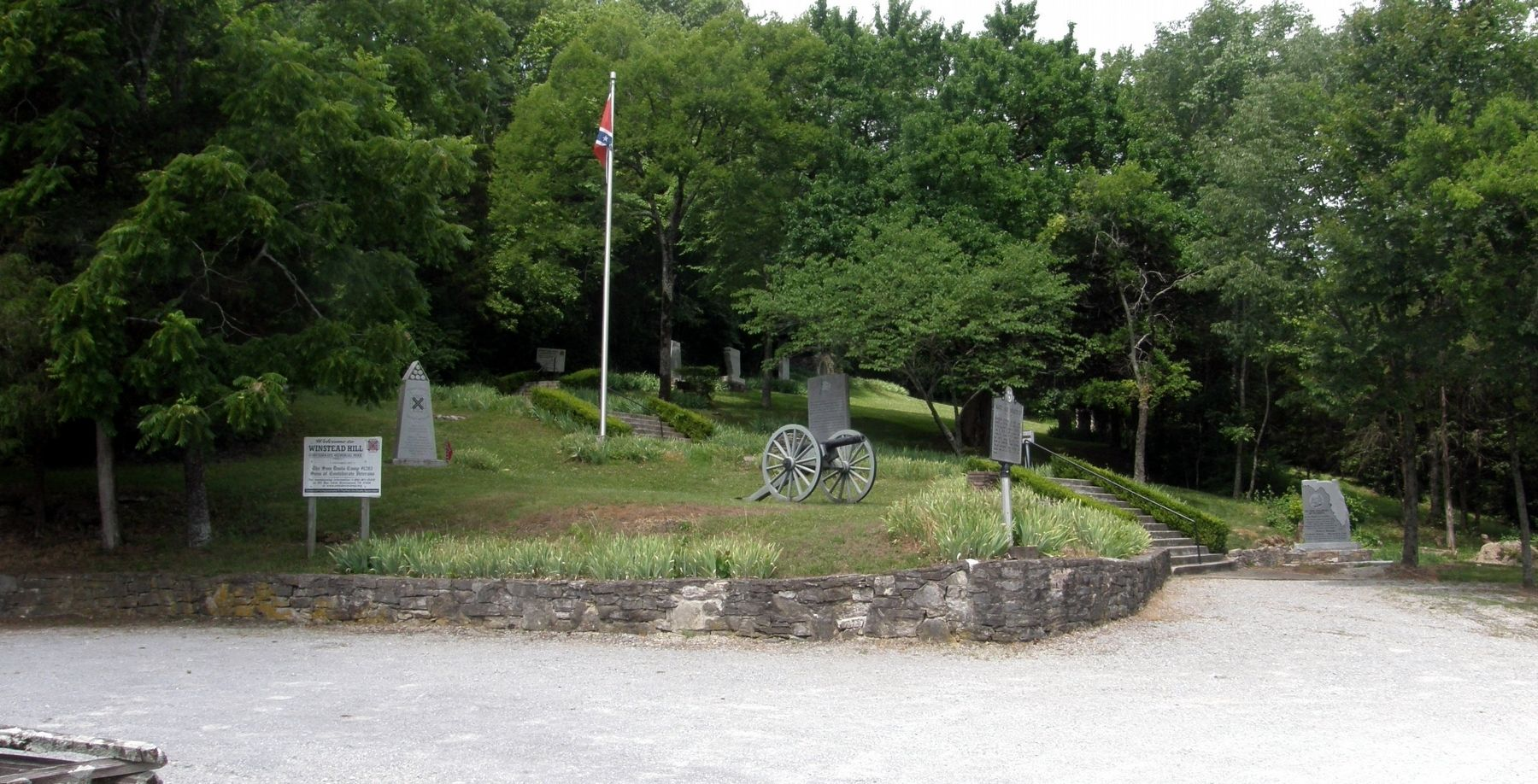 Winstead Hill Confederate Memorial Park image. Click for full size.