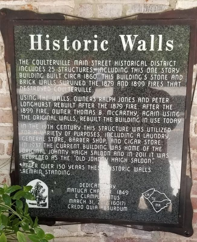 Historic Walls Marker image. Click for full size.