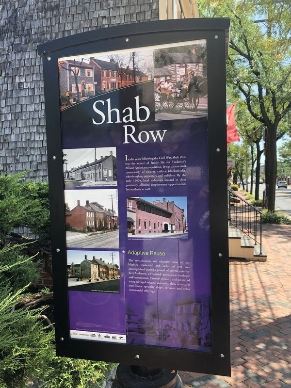 Shab Row Marker image. Click for full size.