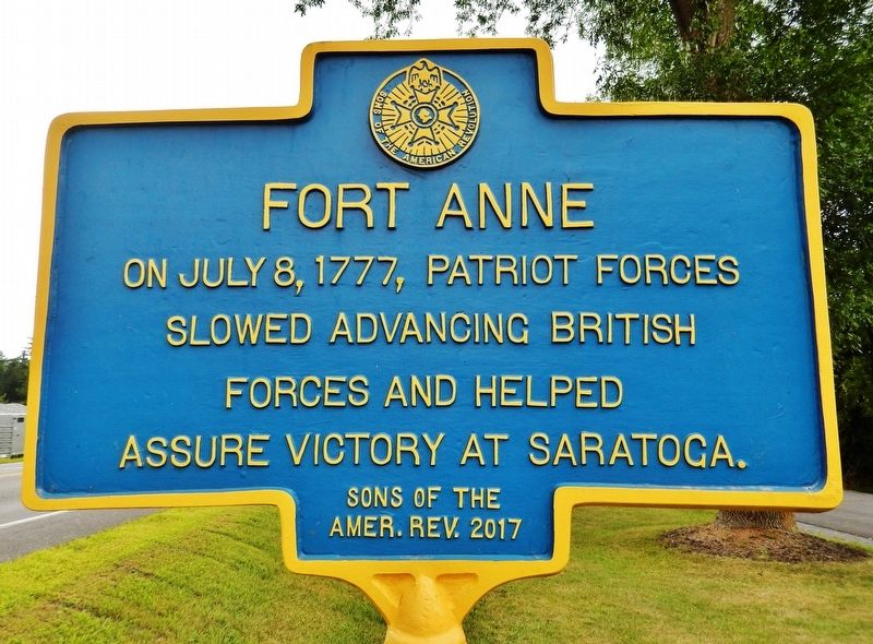 Fort Anne Marker image. Click for full size.