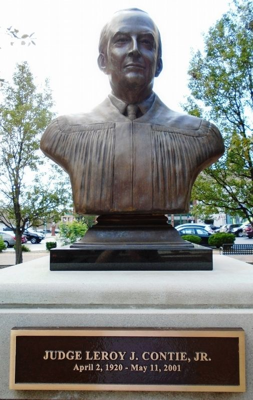 Judge Leroy J. Contie, Jr. Bust image. Click for full size.