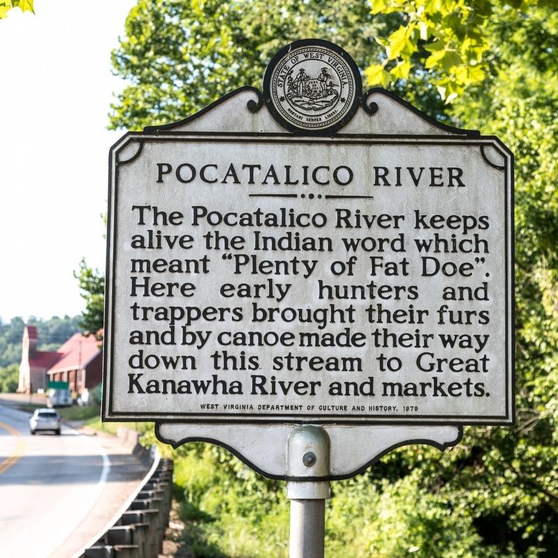 Pocatalico River Marker image. Click for full size.
