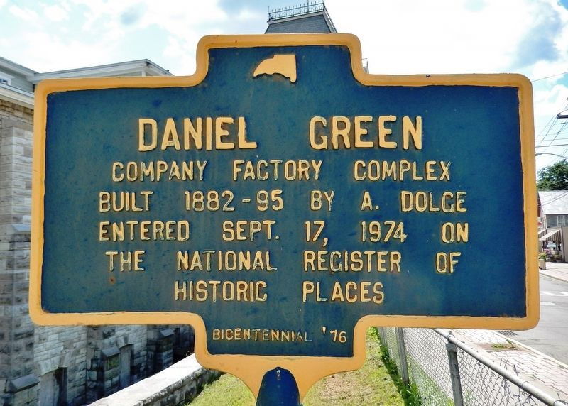 Daniel Green Marker image. Click for full size.