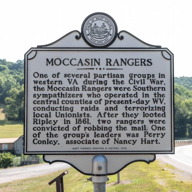 Moccasin Rangers Marker image. Click for full size.