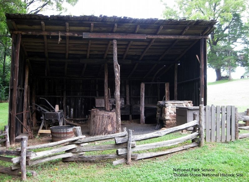 Blacksmith Shed image. Click for full size.