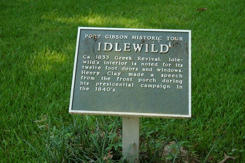 Idlewild Marker image. Click for full size.