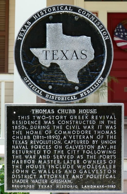 Thomas Chubb House Marker image. Click for full size.