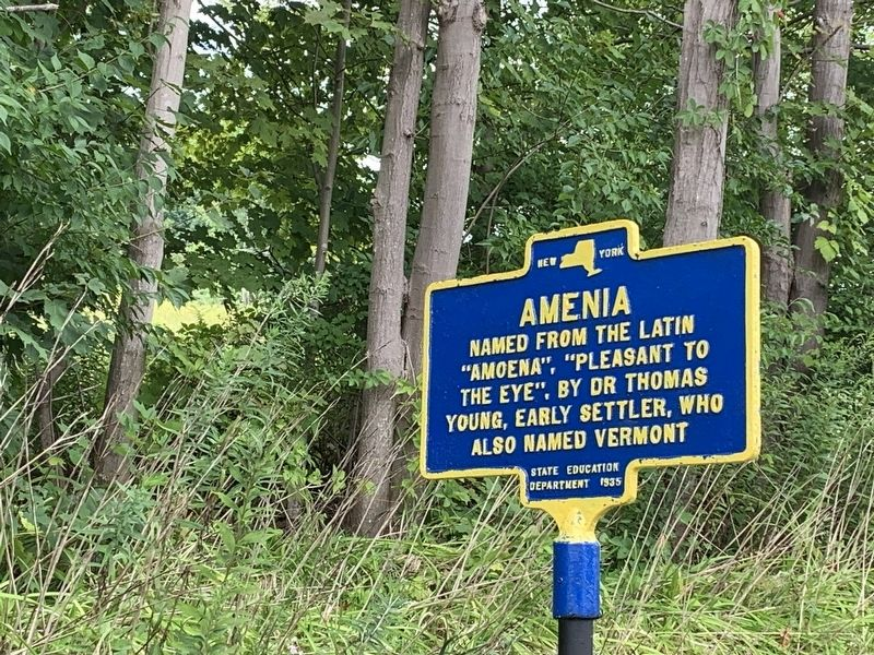 Amenia Marker image. Click for full size.