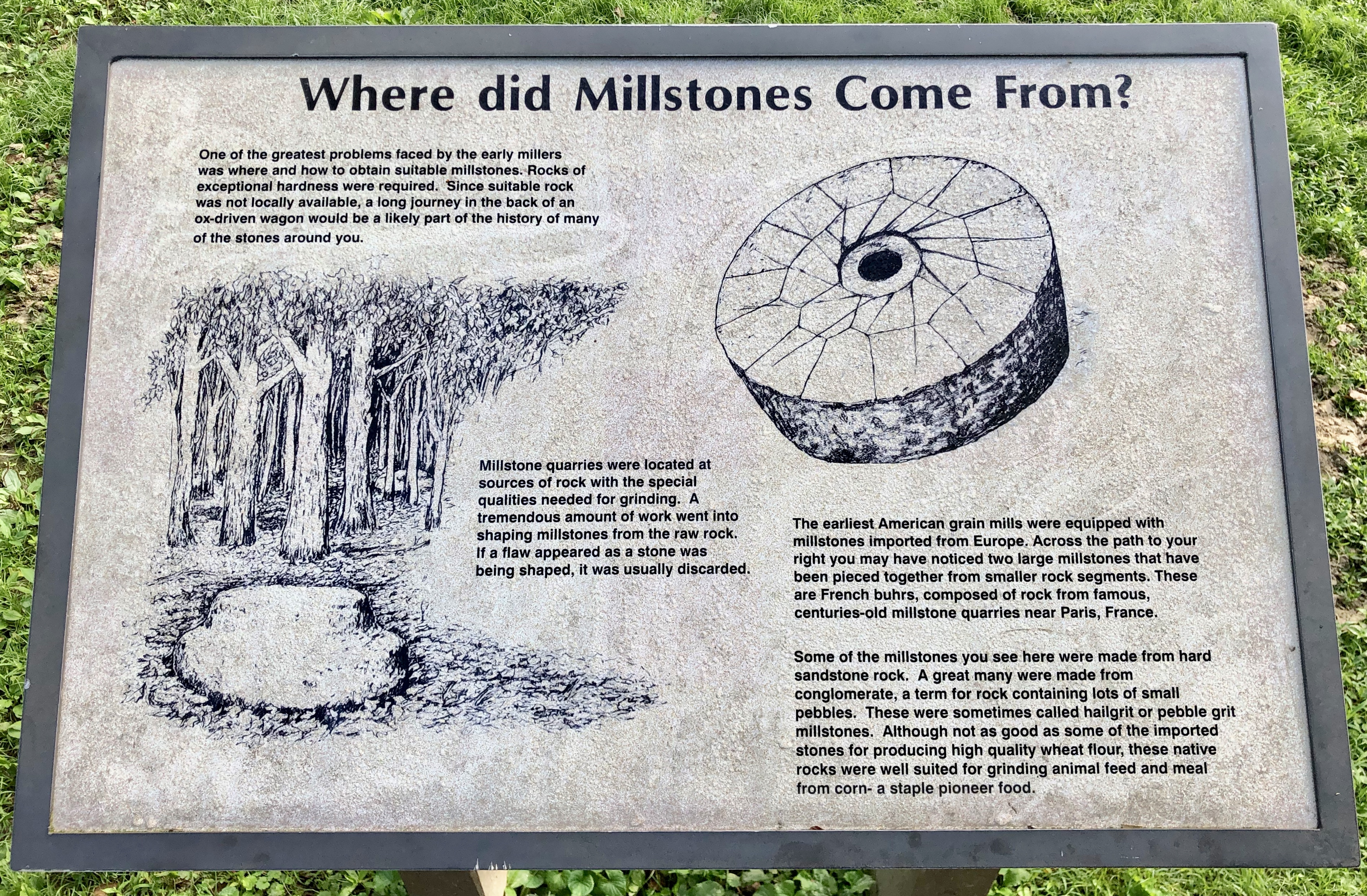 Where did Millstones Come From? Marker