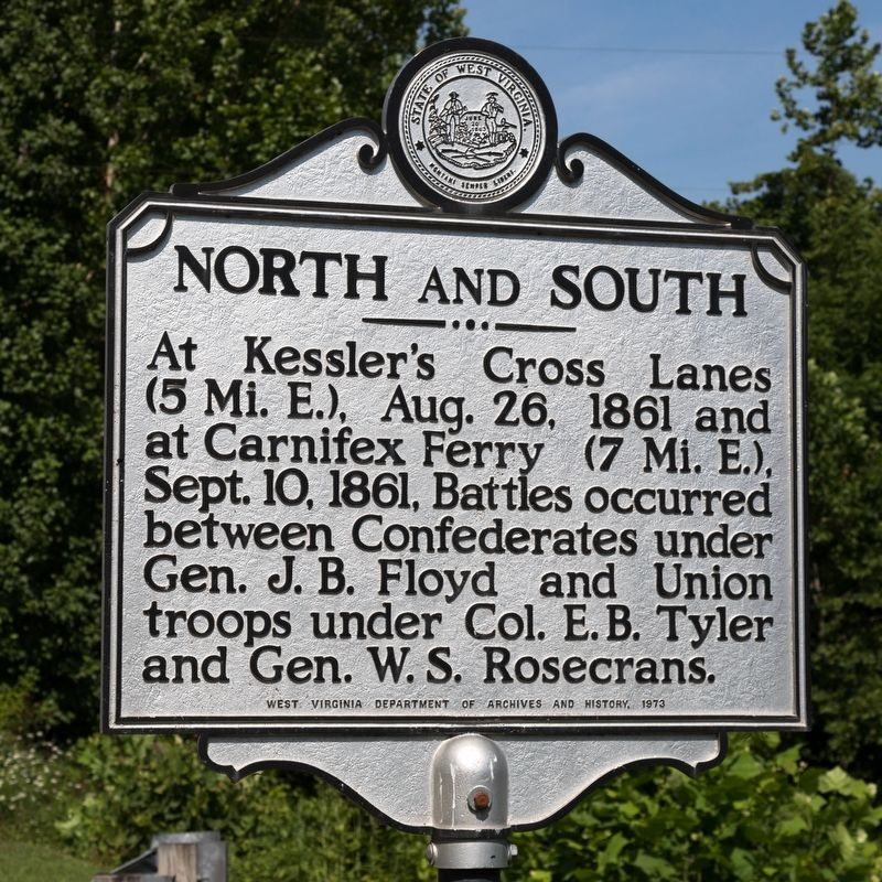 North and South Marker image. Click for full size.