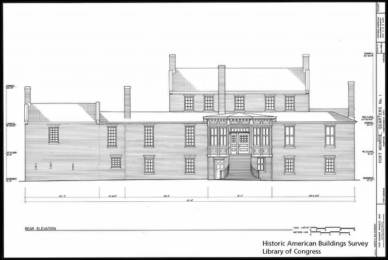 Quarters No.1 Exterior Design Plans image. Click for full size.