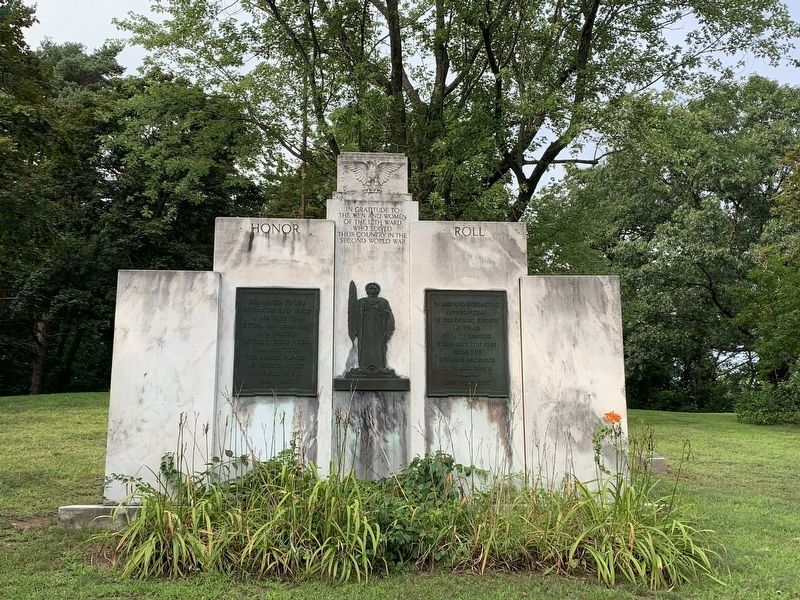 12th Ward World War II Memorial image. Click for full size.