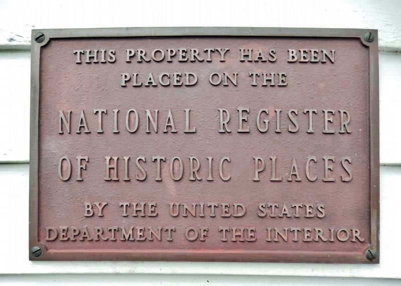 First Baptist Church • National Register of Historic Places image. Click for full size.