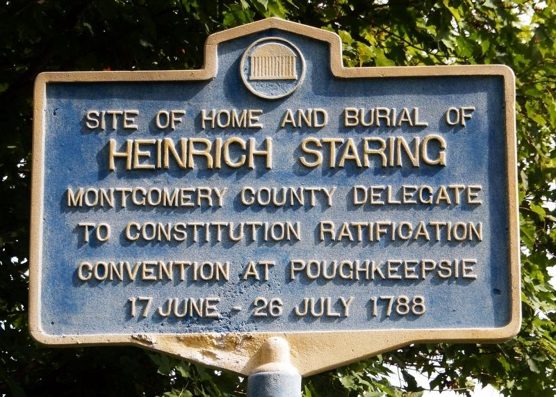 Heinrich Staring Marker image. Click for full size.