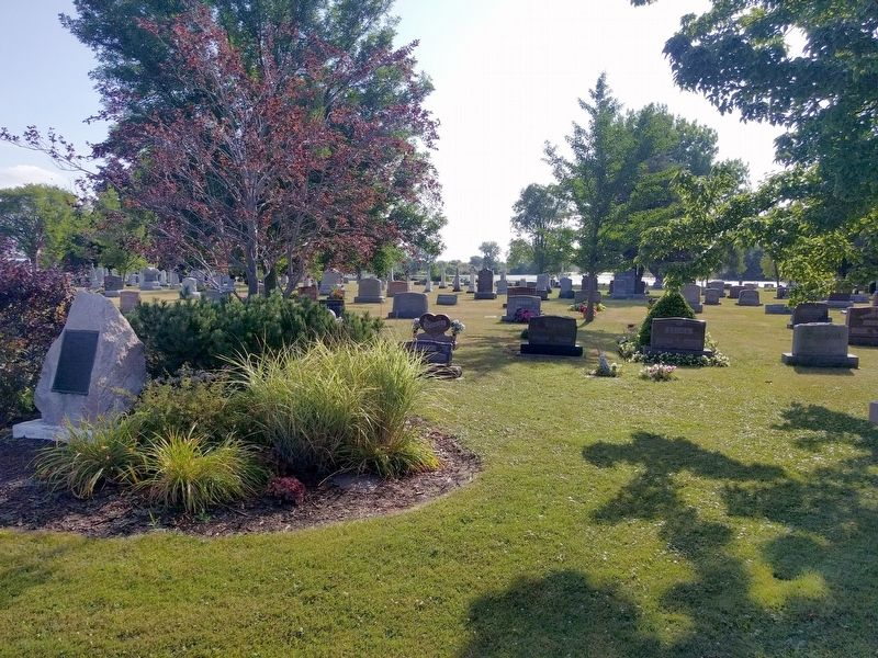 St. Paul Evangelical Lutheran Church Cemetery image. Click for full size.